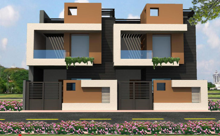 India Row House Design Joy Studio Best