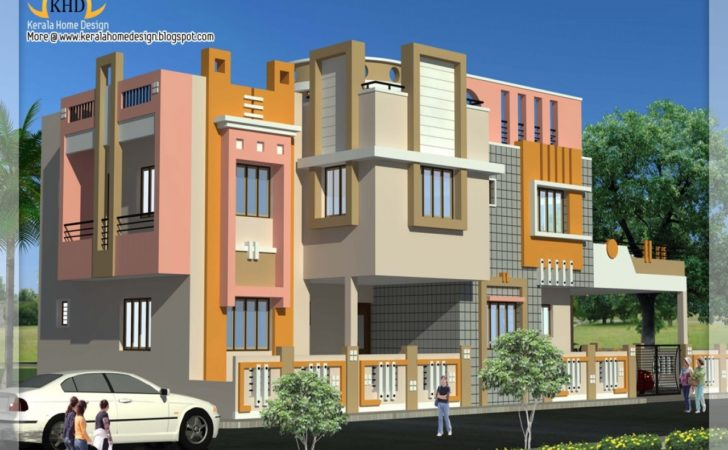 Indian Duplex House Designs Plans