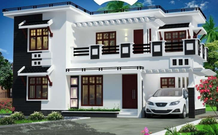 Indian Sqftmoderncontemporary Bhkvillahomearchitectured
