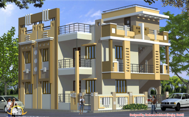 Indian Style Home Design Kerala