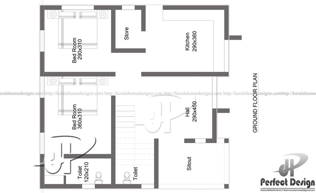 Indian Style House Plan Square Feet Everyone Like
