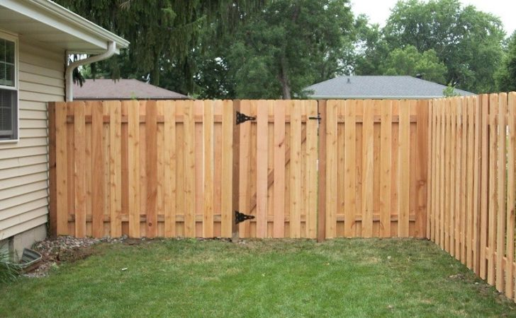 Inexpensive Cedar Privacy Fence Plans Building