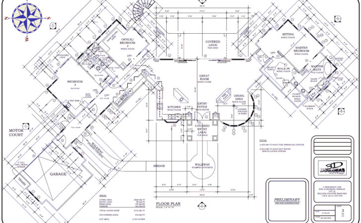 Initial Planning Maui House Building Dream