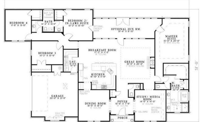 Inspiring House Plans Inlaw Apartment Attached