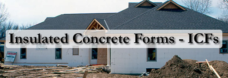 Insulated Concrete Forms Icf Construction Car