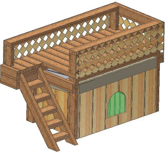 Insulated Dog House Plans Total Multiple Kennel