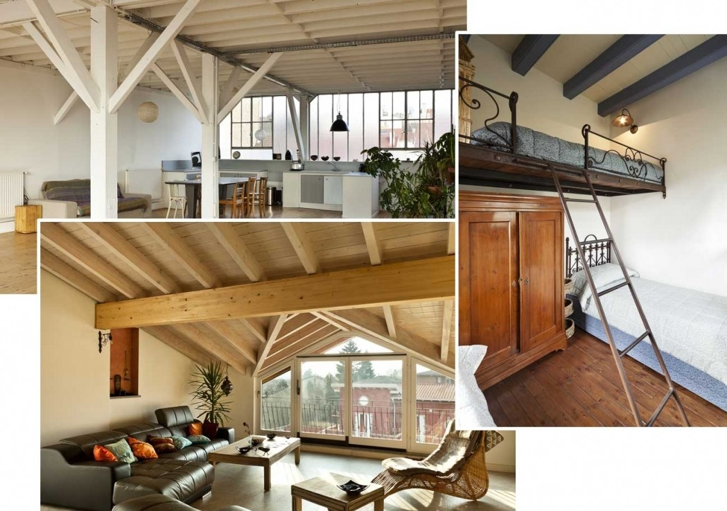 Interior Design Open Floor Plans Loft