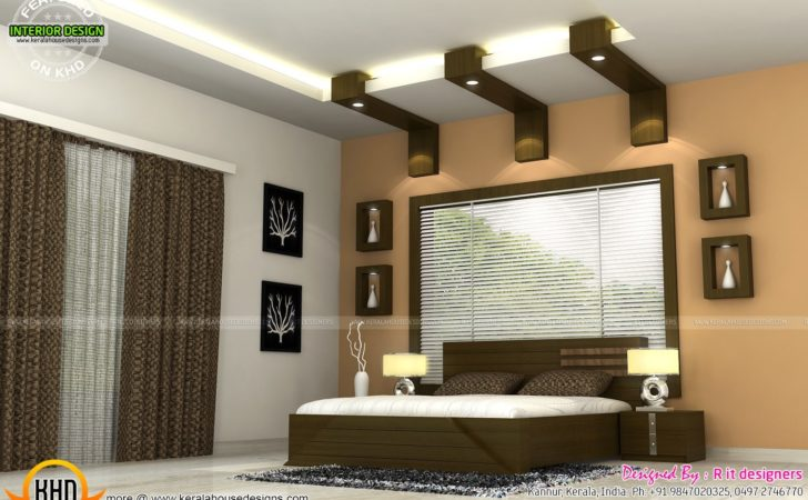 Interiors Bedrooms Kitchen Kerala Home Design