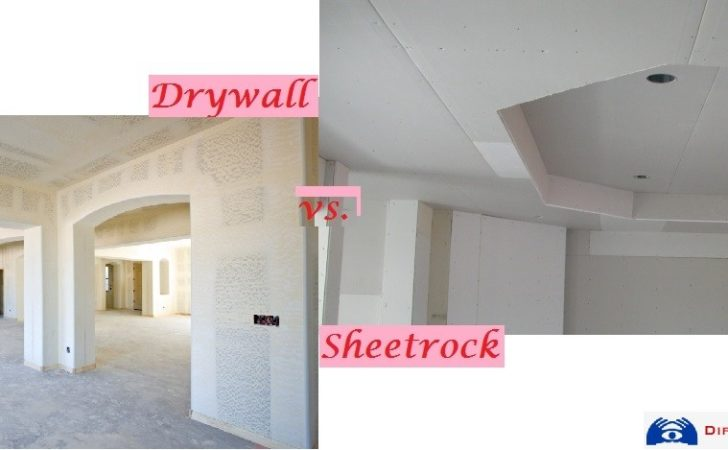 Interlink Between Sheetrock Drywall Difference