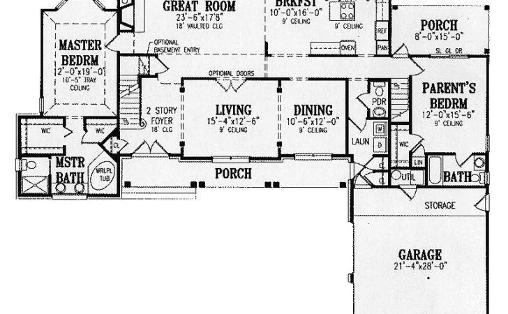 Jonesport Southern Luxury Home Plan House
