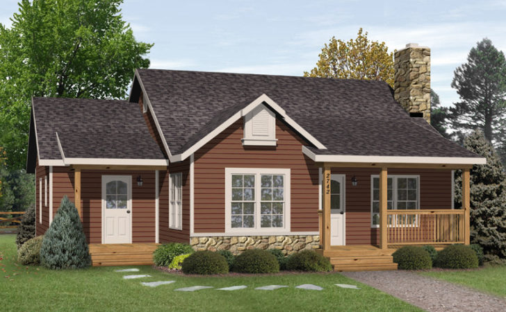 Kaiser Country Cabin Home Plan House Plans