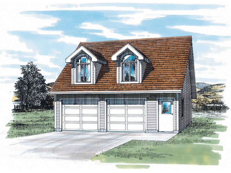 Kalina Garage Dormers Plan House Plans
