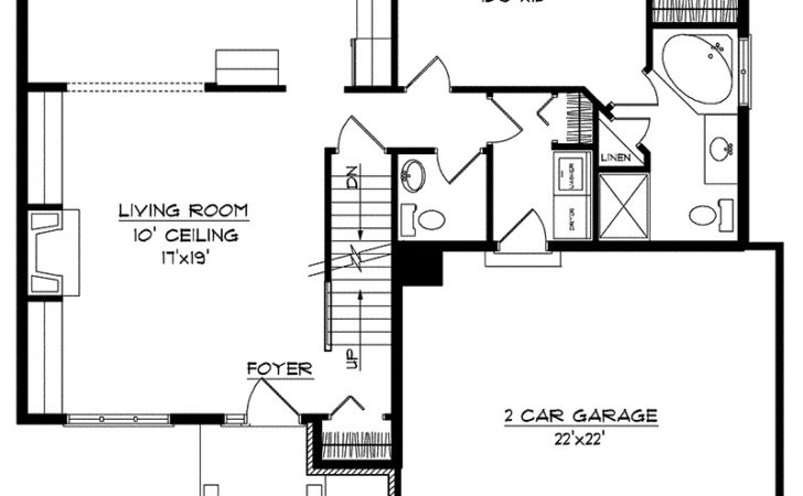 Kardelle Multi Level Home Plan House Plans