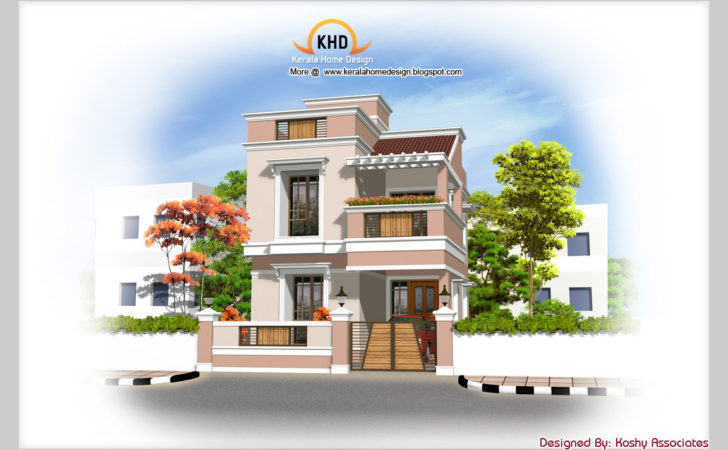 Kerala Duplex House Plans Joy Studio Design