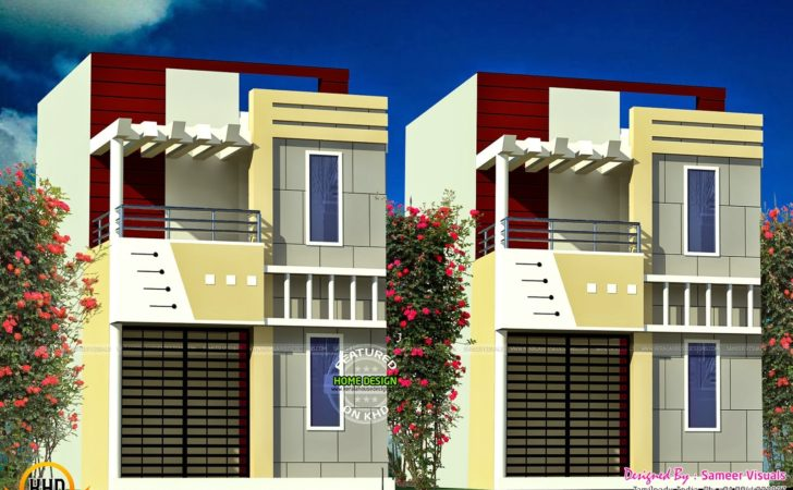 Kerala Home Design Floor Plans Row House
