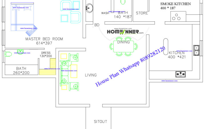 Kerala House Plans Estimate