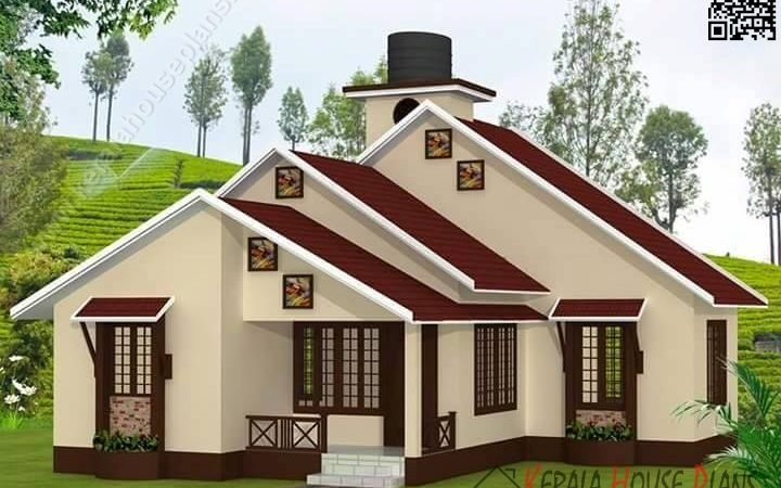 Kerala Low Budget House Plan Elevation Floor Details