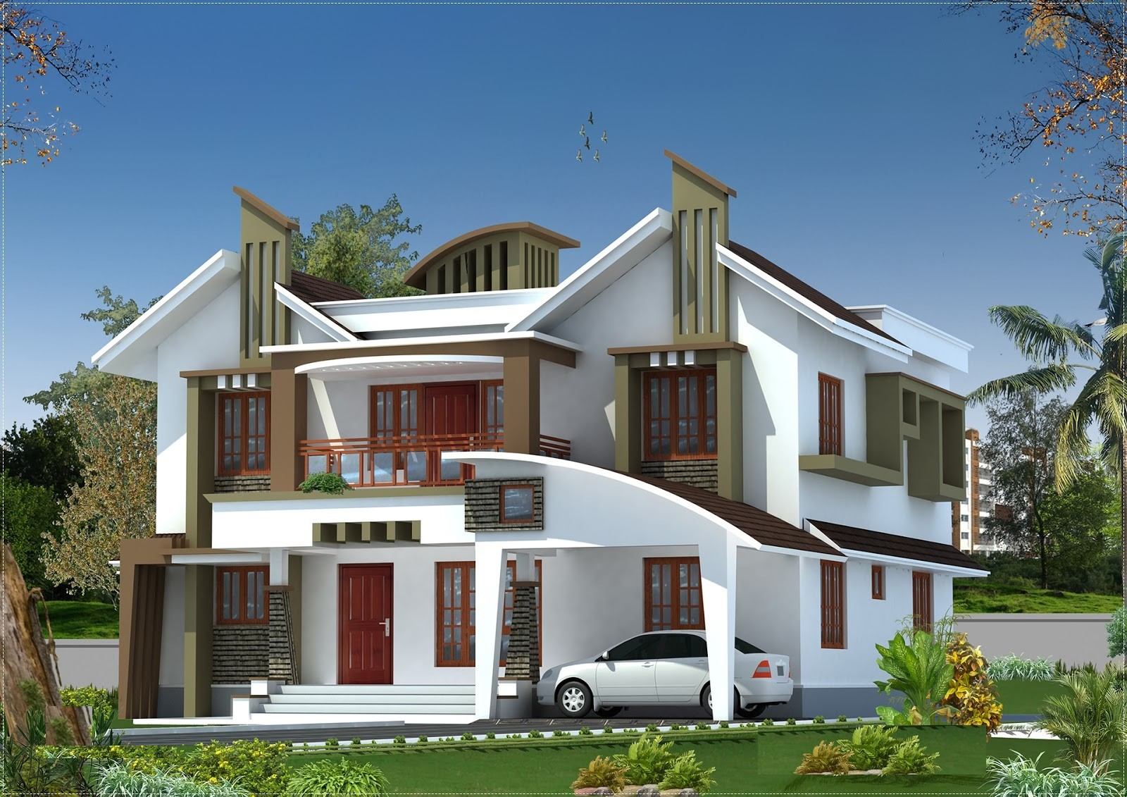 Kerala New Model Home Homes Floor Plans