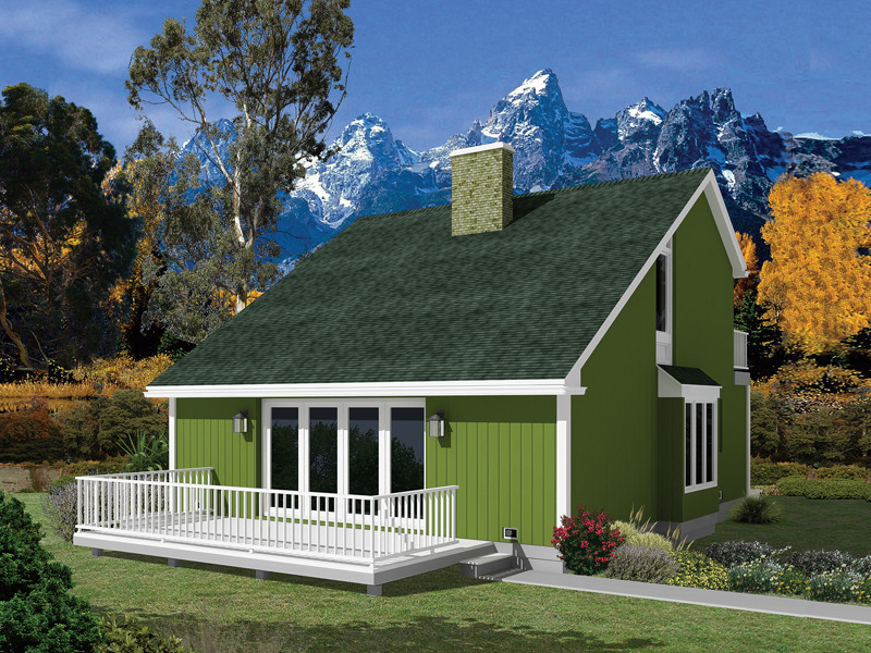 Kingsport Saltbox Vacation Home Plan House