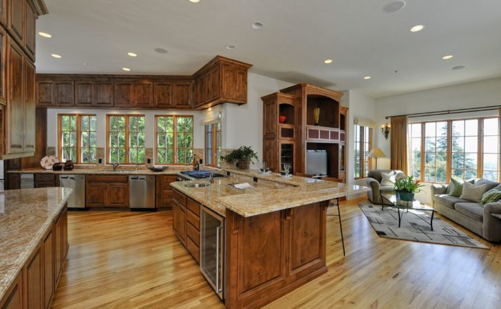 Kitchen Design Great Floor Plans Ideas Contemporary Large