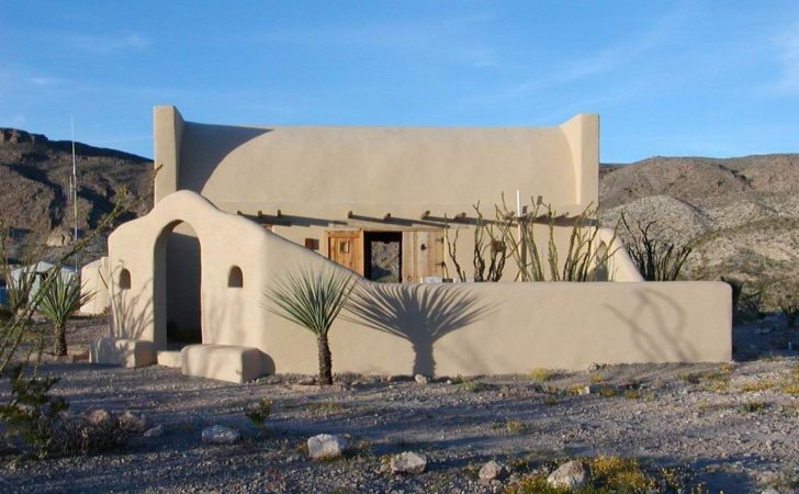Lajitas Terlingua Adobe House Ranch Sale Big