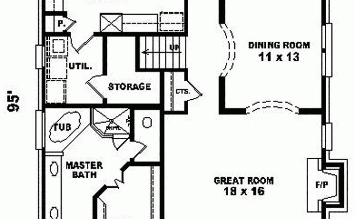 Lake Cottage Narrow Lot House Plans Motor