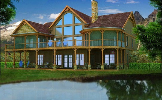 Lake House Plans Specializing Home Floor
