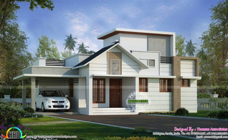 Lakhs Cost Estimated One Floor House Kerala Home