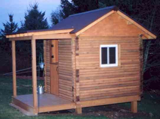 Landscape Timber Log Cabin Playhouse