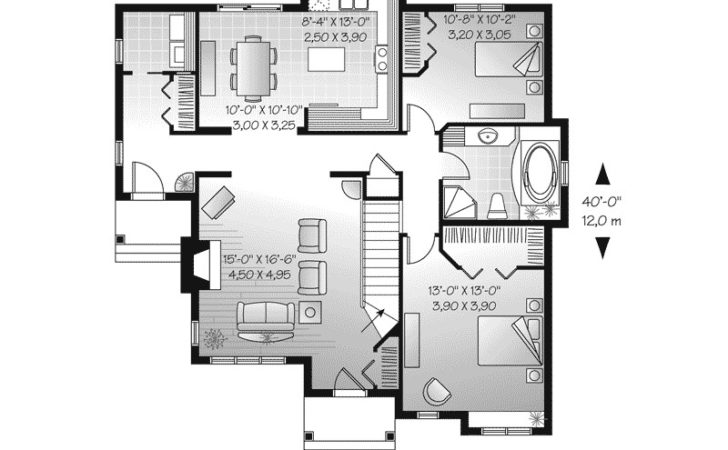 Larbrook Early American Home Plan House Plans