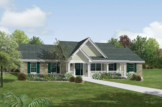 Large Country House Plans Home Design Style