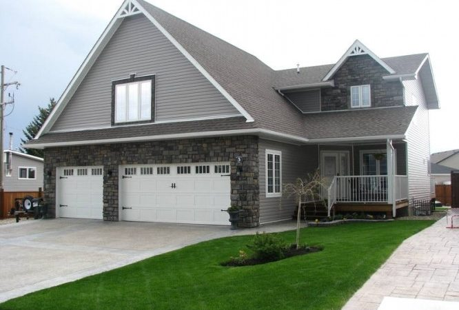 Large Home Attached Three Car Garage Detached