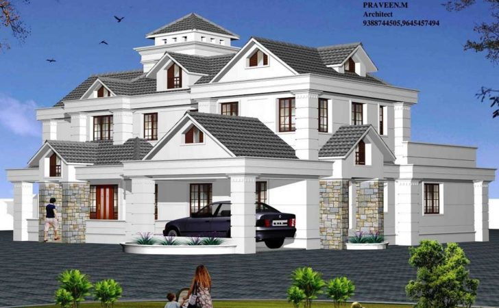 Large House Plans Multi Modern Feature