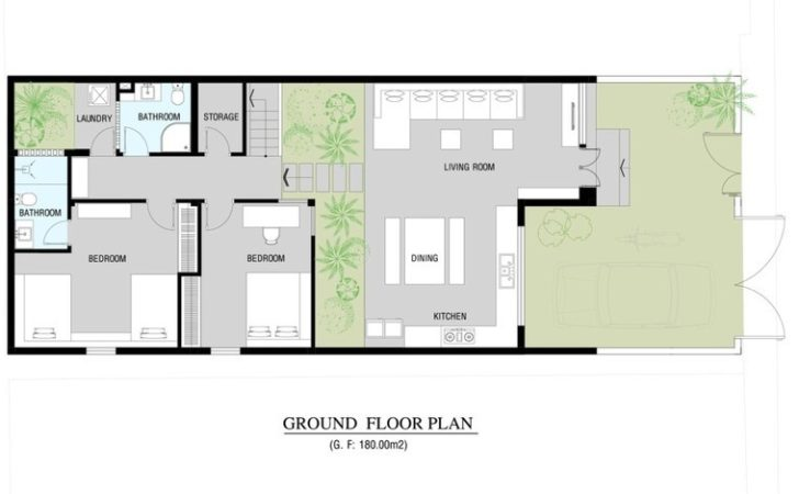 Larger House Plan Floor