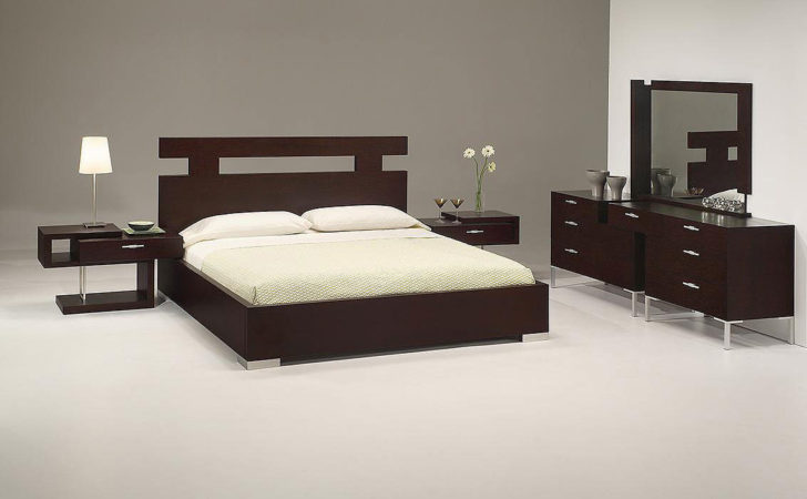 Latest Furniture Modern Bed Design