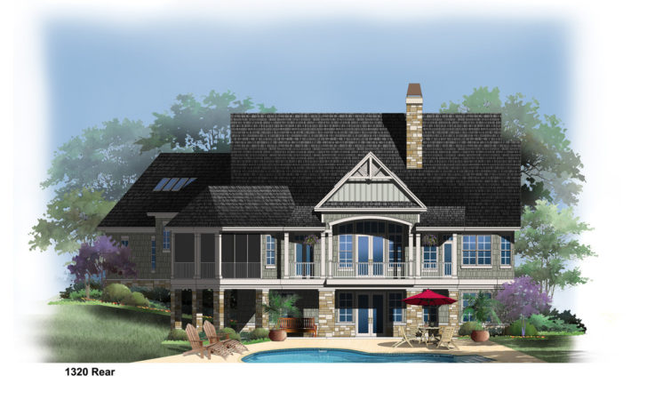 Latest Waterfront Home Plans Sloping Lots Lakefront