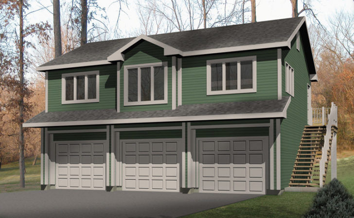 Laycie Car Garage Apartment Plan House Plans
