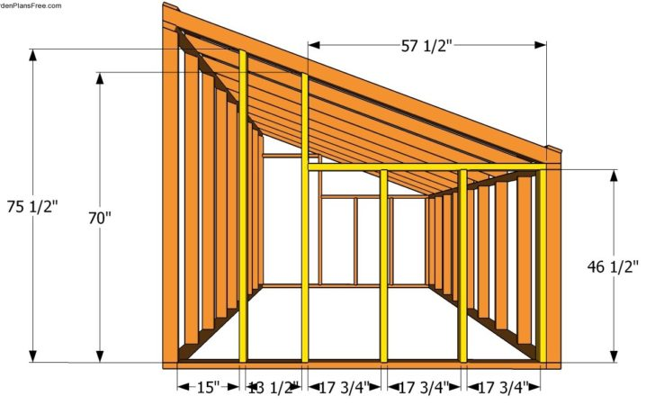 Lean Greenhouse Plans Garden