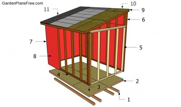Lean Shed Plans Pdf Storage
