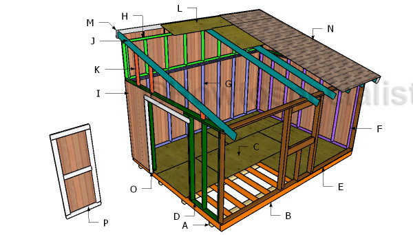 Lean Shed Roof Plans Howtospecialist