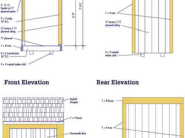 Lean Sheds Pinterest Shed Plans