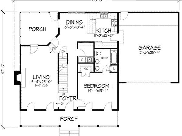 Leila Saltbox Home Plan House Plans More