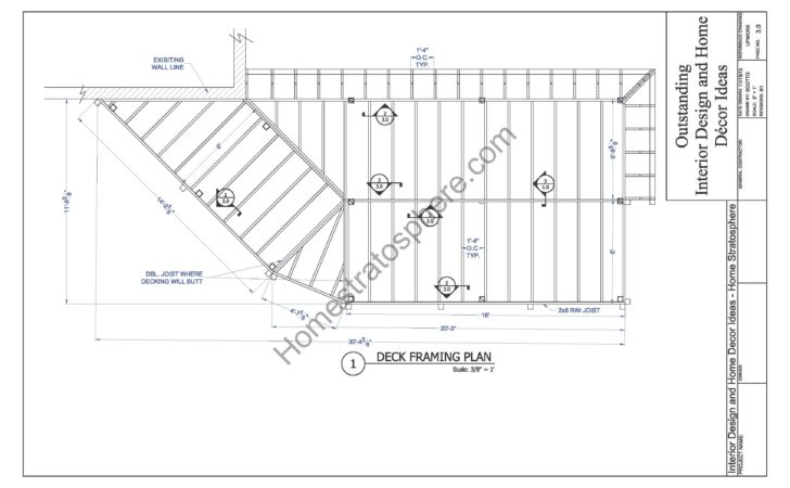 Level Deck Plan Blueprint Pdf