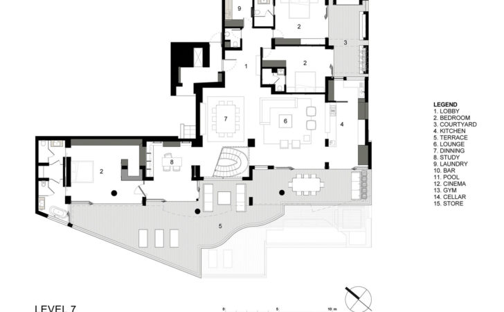 Level Floor Plan Clifton Luxury Apartment