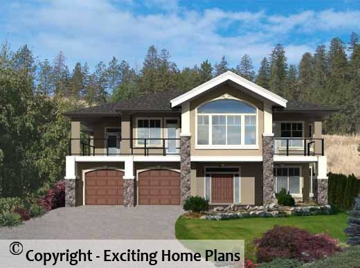 Level House Plans Home Design Style