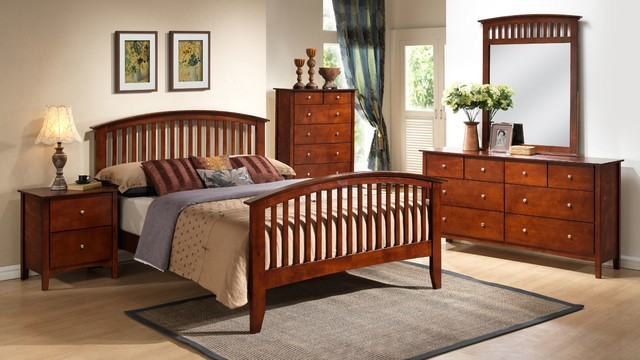 Lifestyle Queen Mission Style Bedroom Set