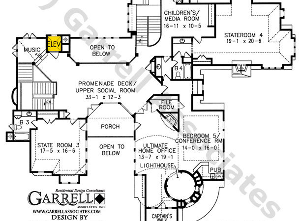Lightkeeper House Plan Barrier Plans