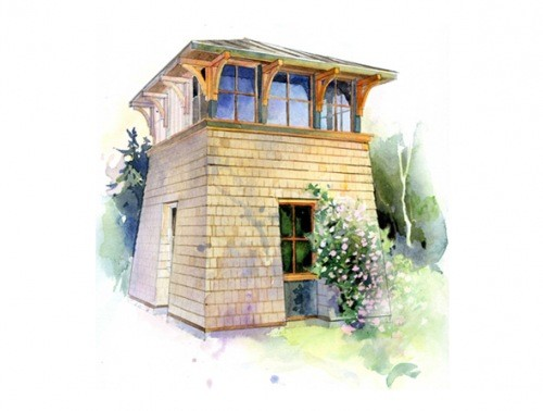 Lloyd Blog Tower Studio Small House Plans