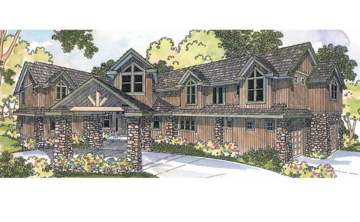 Lodge Style House Plans Bentonville Associated