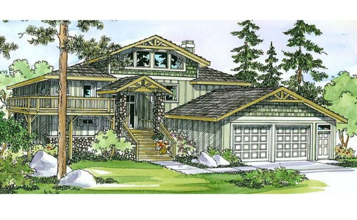 Lodge Style House Plans Catkin Associated Designs